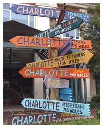 Charlotte Directional Signs
